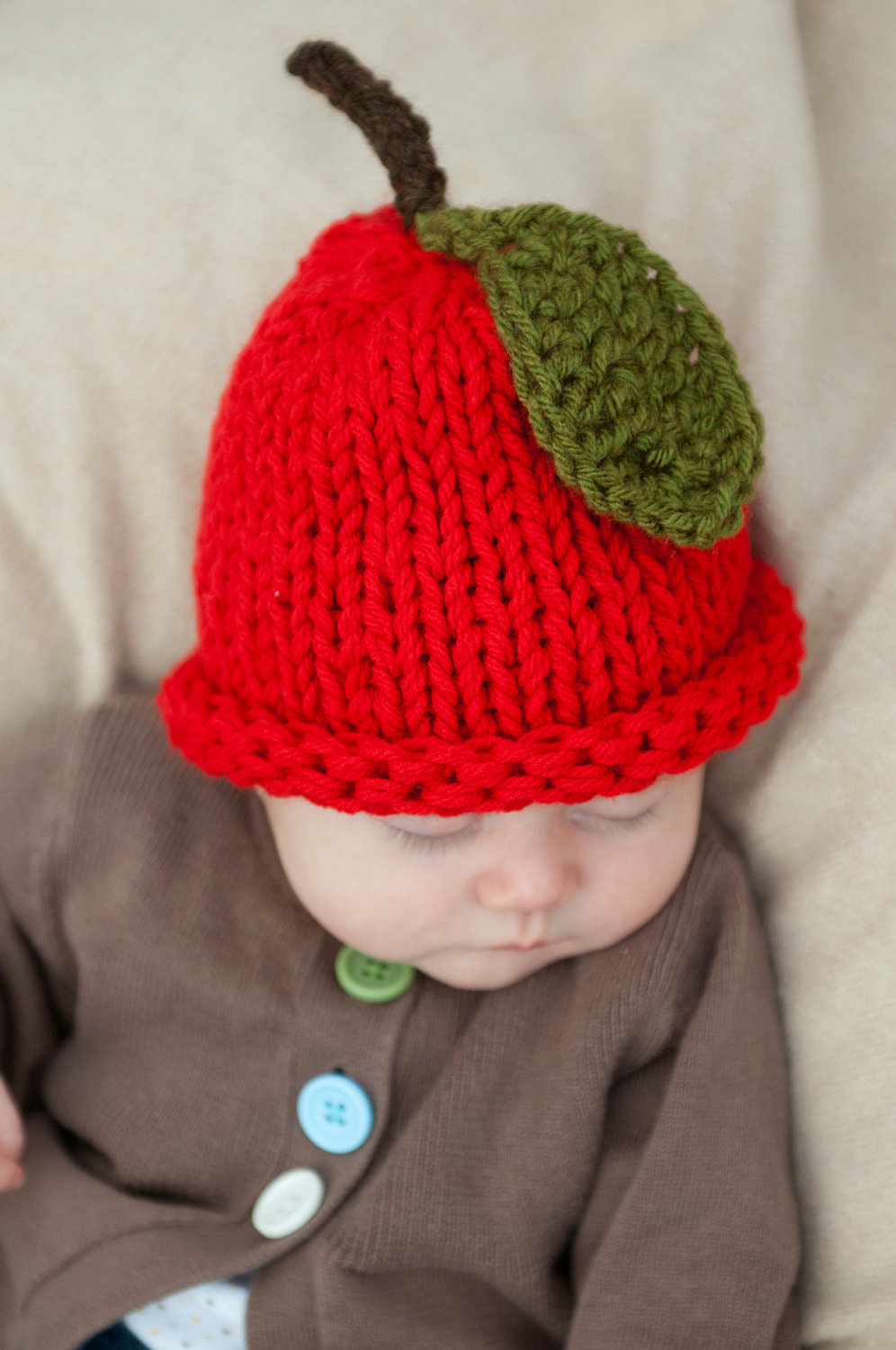 Apple Baby Beanie Hat
