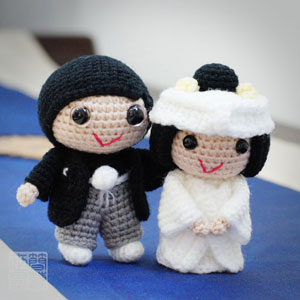chinese wedding dolls pattern ... | Crochet doll, Crochet dolls ... | 300x300