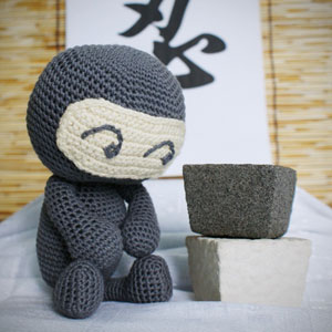 Ninja Amigurumi Free Pattern : Ninja Crochet Pattern - Ninja Amigurumi Pattern ...