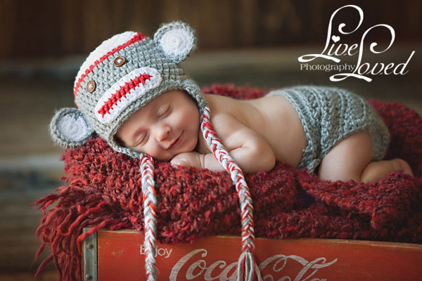 Sock Monkey Hat Pattern - Crochet Sock Monkey Hat Pattern ...