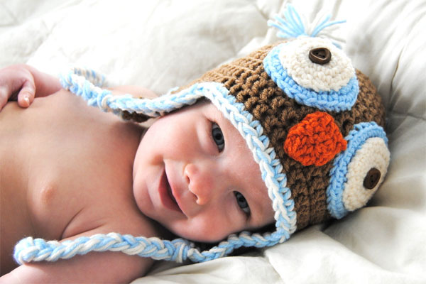 Crochet Pattern For Newborn Owl Hat : Crochet Owl Hat Pattern - Owl Hat Crochet Pattern ...