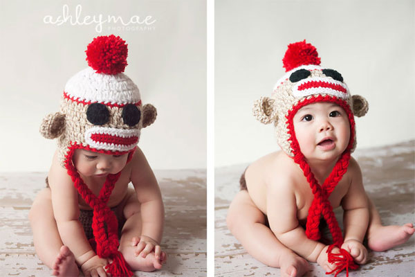 Sock Monkey Hat Pattern Crochet Sock Monkey Hat Pattern