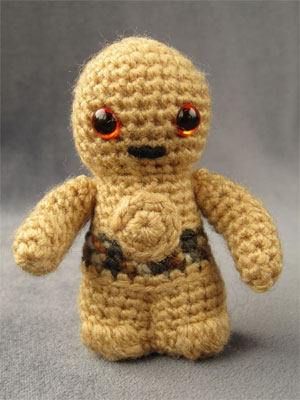 Star Wars Amigurumi Pattern - C-3PO