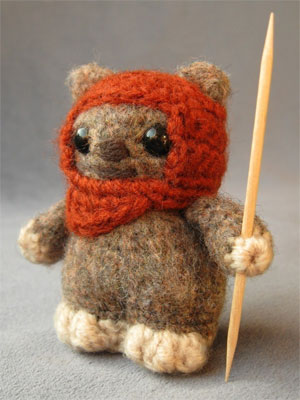 Star Wars Amigurumi Pattern - Ewok