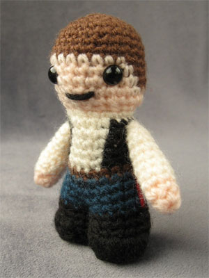 Star Wars Crochet Pattern - Han Solo