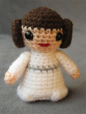 Star Wars Crochet Pattern - Princess Leia