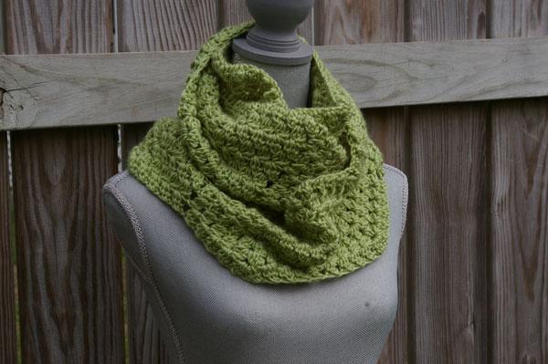 Crochet Infinity Scarf Pattern Infinity Scarf Crochet Pattern